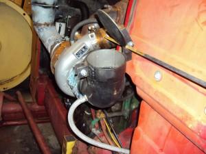Nödstopp för diesel från sidan